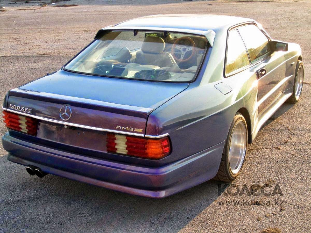 How many amg 6 0 4v w126 sec and sel cars were built amg side shot - Cars