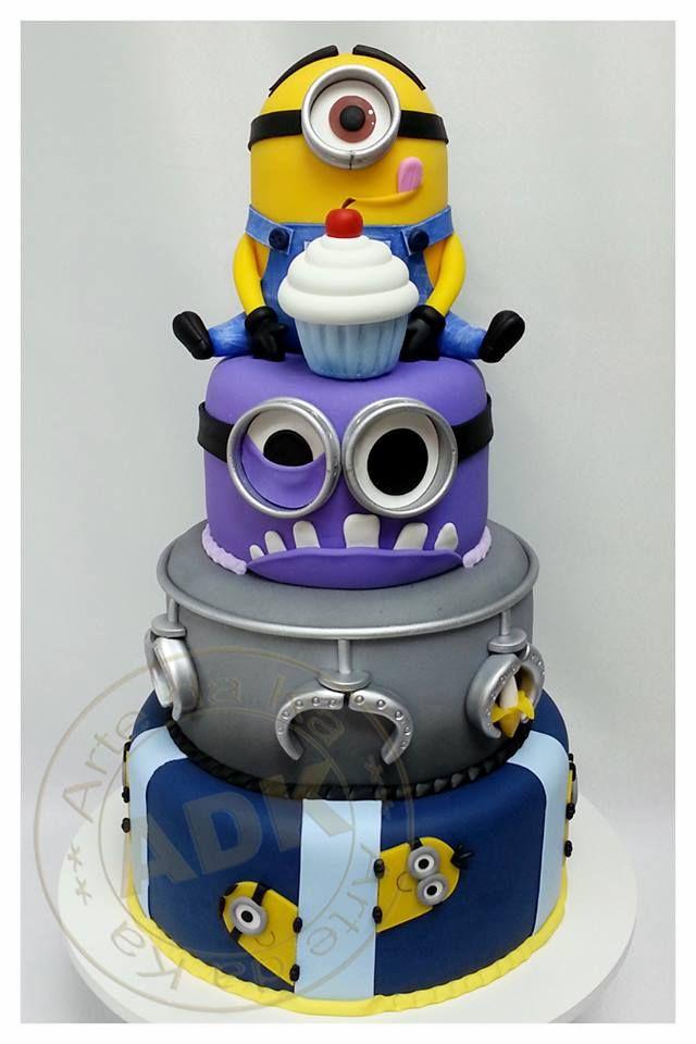 Meu Malvado Favorito Cake Cupcake Cakes Birthday Cake