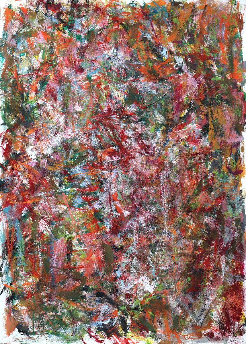 Uden titel Gouache på papir   70x50 cm   2016   OCH-G-16-