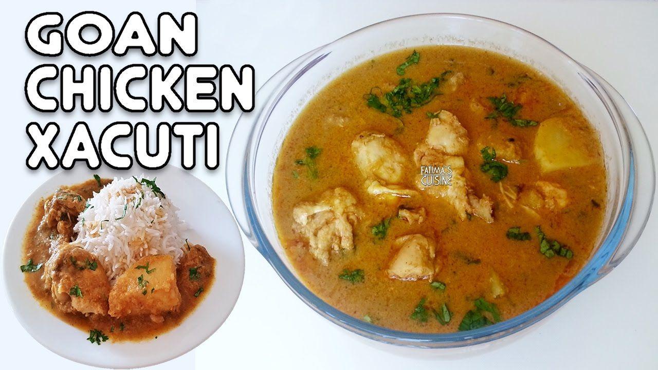 Goan Chicken Xacuti Easy Cooked Sushi Recipes Sushi Recipes Easy Gourmet Chicken