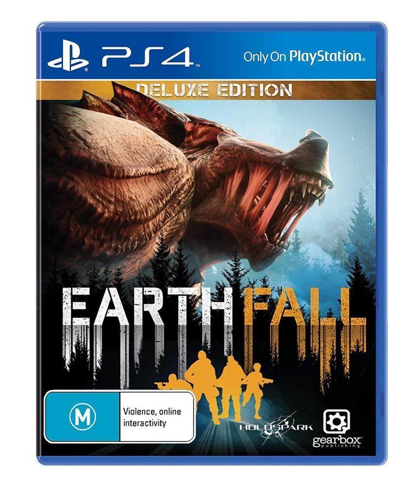 Details about EarthFall Earth Fall Deluxe Edition Coop