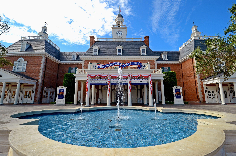 The American Adventure Pavilion Epcot Disney Pinterest