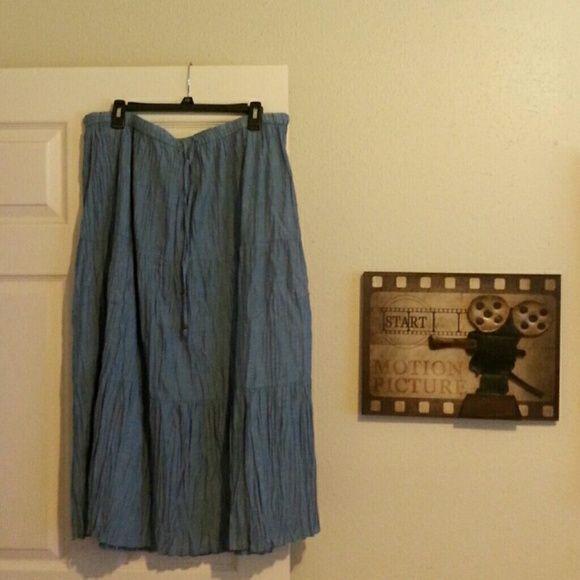 Gorgeous blue skirt Waistband skirt Comfort Whitestay Skirts