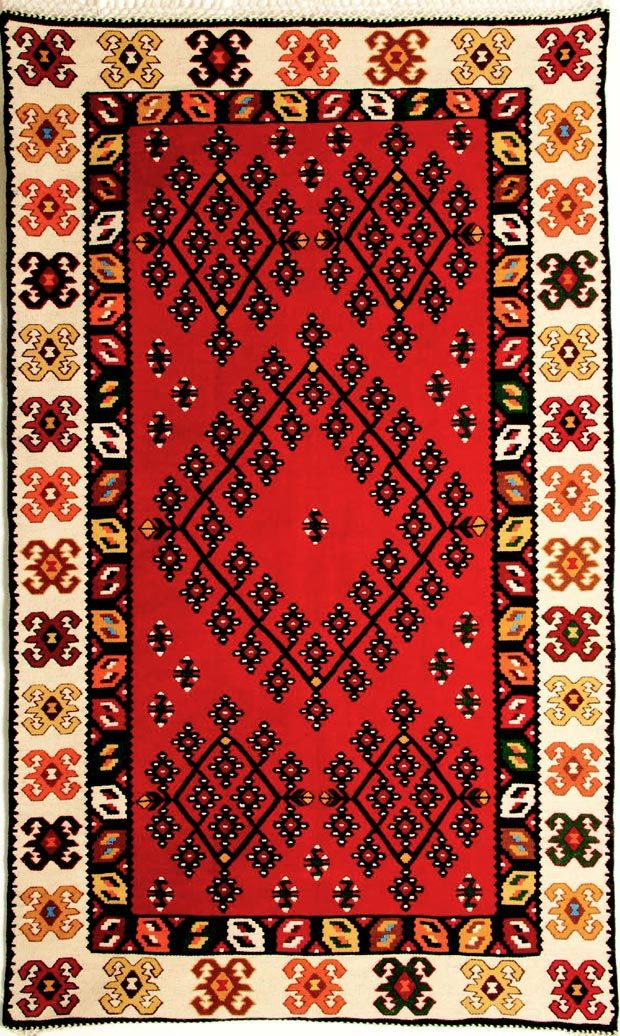 Harmony Repetition And Vivid Colors Of The Bosnian Kilim Rugs