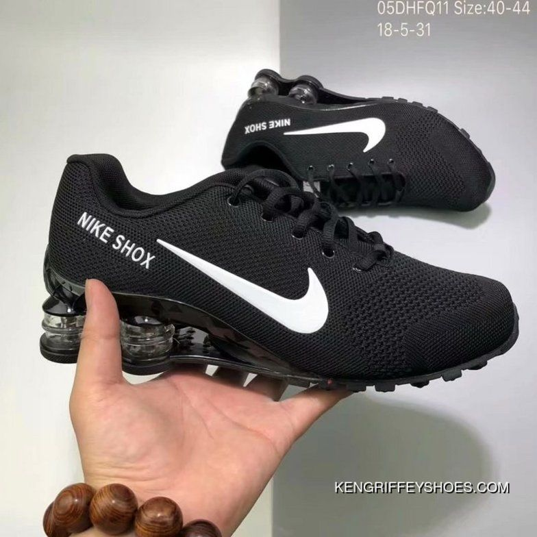 69bcc073473 Nike AIR SHOX FLYKNIT Zoom Running Shoes BLACK WHITE SWOOSH 2018 Russia  FIFA World Cup Discount