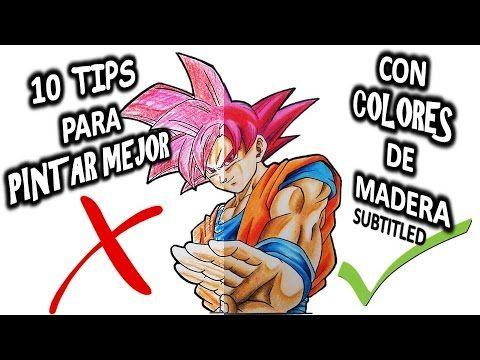 10 Tips Para Pintar Mejor Con Lapices De Colores Tips To Improve Your Coloring Subtitled Facil You Lapices De Colores Dibujo Con Lapices De Colores Lapices