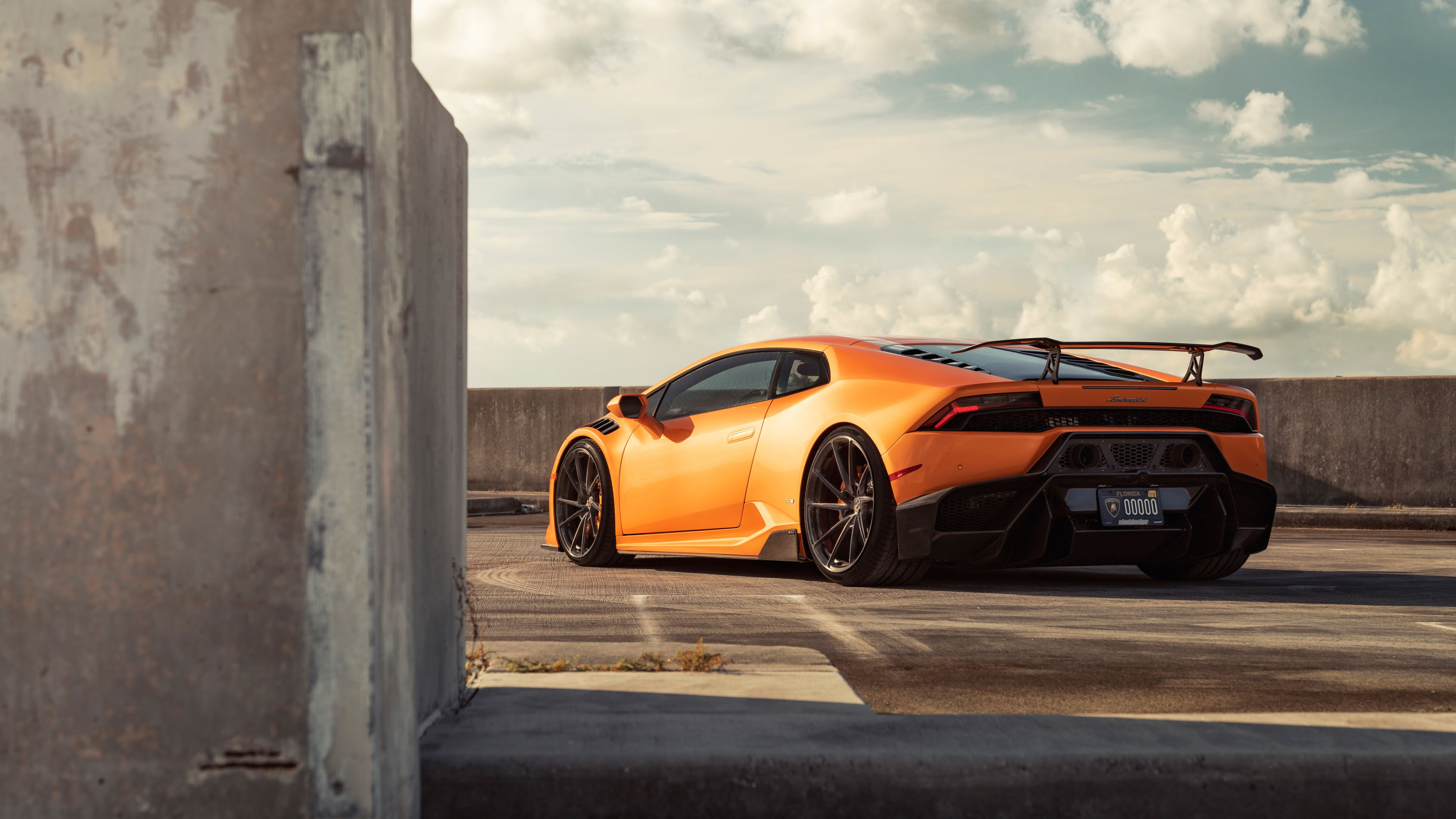 Orange Lamborghini Huracan Rear 4k Lamborghini Wallpapers Lamborghini Huracan Wallpapers Hd Wallpapers Cars Wa Lamborghini Huracan Super Cars Car Wallpapers