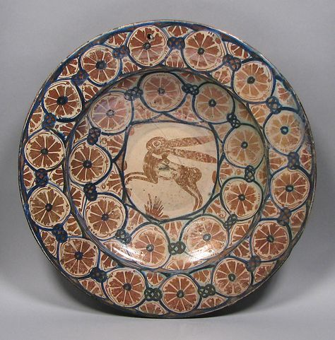 Dish Date Ca 1450 Geography Made In Probably Manises Valencia Spain Culture Spanish Medium Tin Glazed Earthenware 14th 15th Century Pottery In 2019 Ceramic Art Art Pottery Art