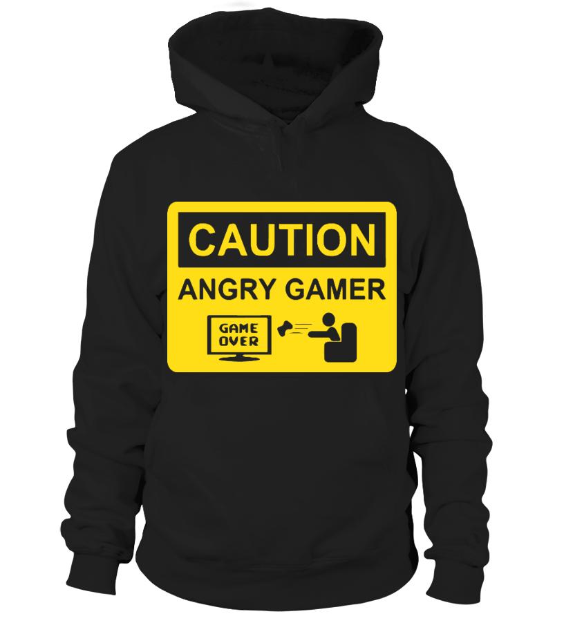 Caution Angry Gamer Gift Idea Shirt Image Music Guitar Sing Art Mugs New Tv Cool Videogames