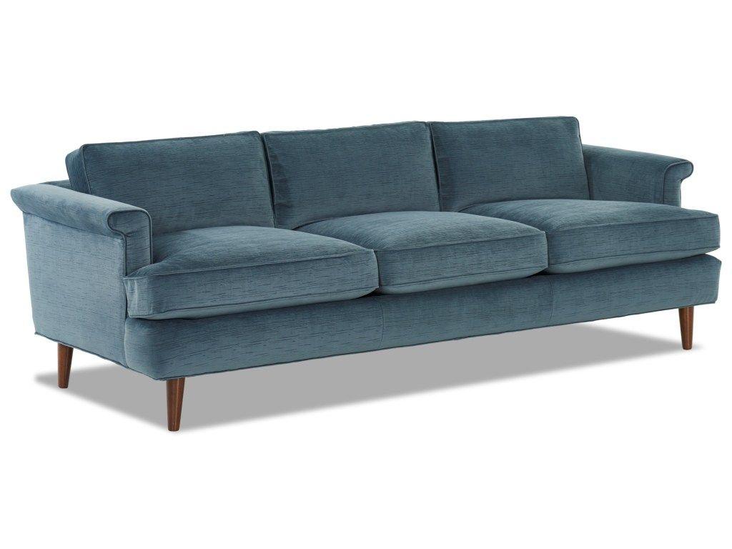 Carson Mid Century Modern Sofa With