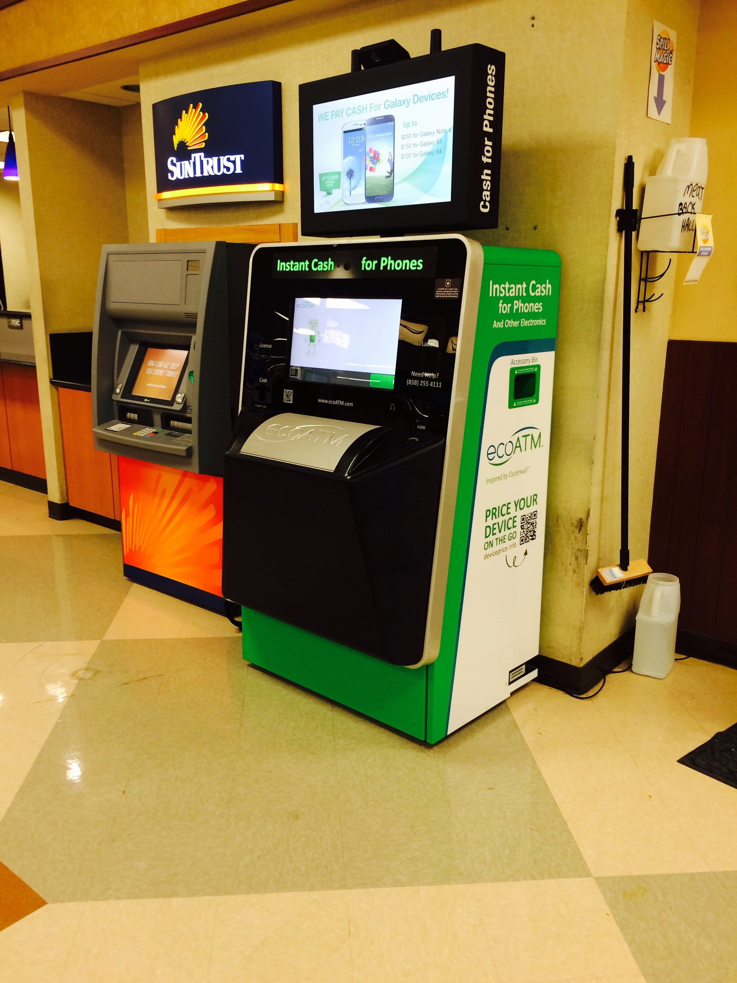 This ecoatm kiosk can be found in cordova tn click the
