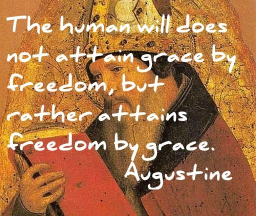 Augustine quote on grace and freedom. | Christian theology quotes, Grace  quotes, Historical quotes