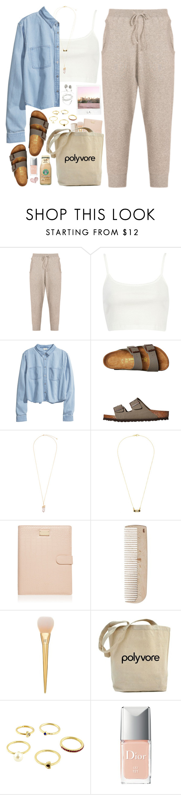 """1921. Trip"" by chocolatepumma ❤ liked on Polyvore featuring Tsumori Chisato, River Island, H&M, Birkenstock, Eloquii, Katie Diamond, Forever New, HAY, Christian Dior and Polaroid"