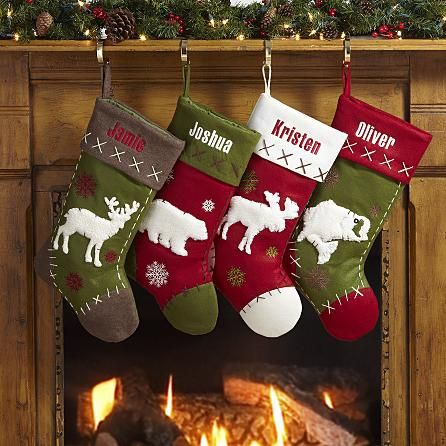 Rustic Hunting Stockings Christmas Stockings Christmas