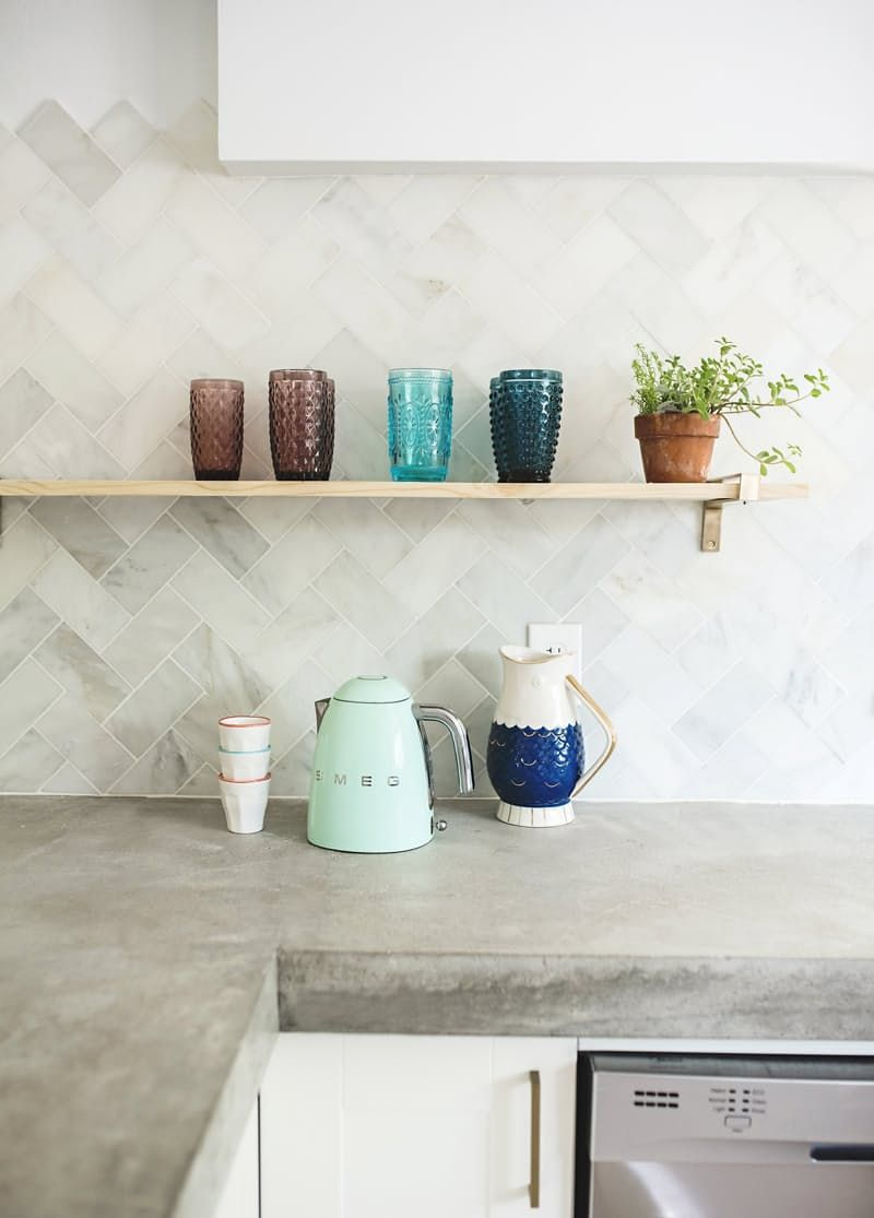 Kitchen Crush of the Week: A Space Built from Scratch #kitchencrushes