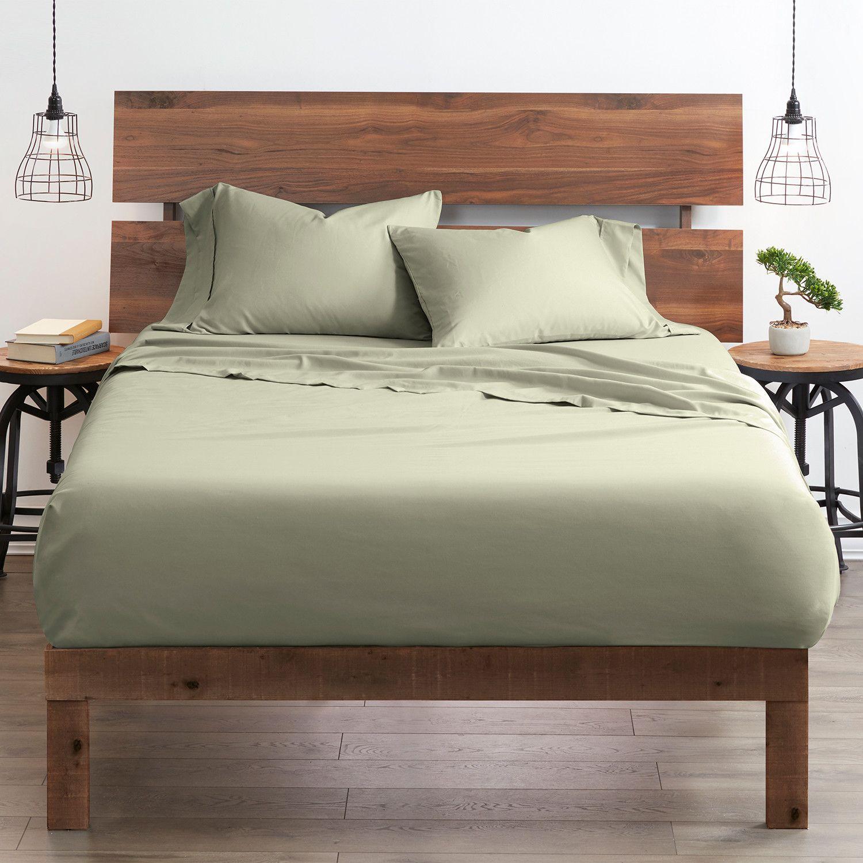 Good Kind Premium Double Brushed 3pc Duvet Cover Set Sage In 2020 Bed Sheet Sets Duvet Cover Sets Bed Sheets