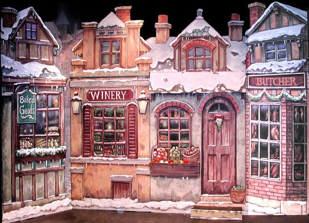 set design a christmas carol | for the non contracted theater ...