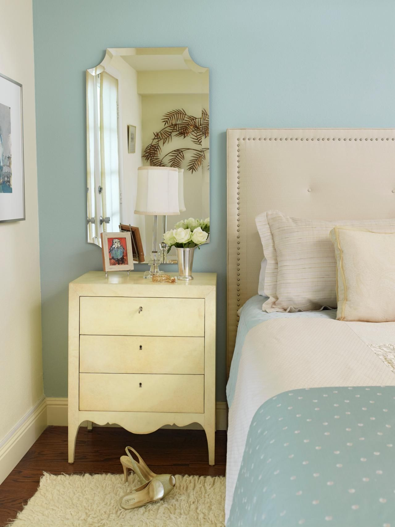 Master bedroom nightstand decor   Tips for Turning Your Guest Bedroom Into a Retreat  Design room