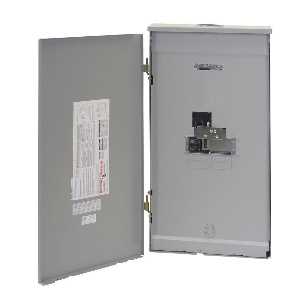 Reliance Controls 200 Amp Outdoor Transfer Panel Transfer Switch Generator Transfer Switch Locker Storage
