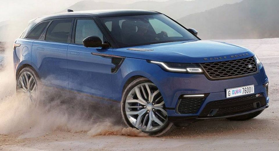 Range Rover Velar SVR Is The Best Rhyme You'll Hear Today