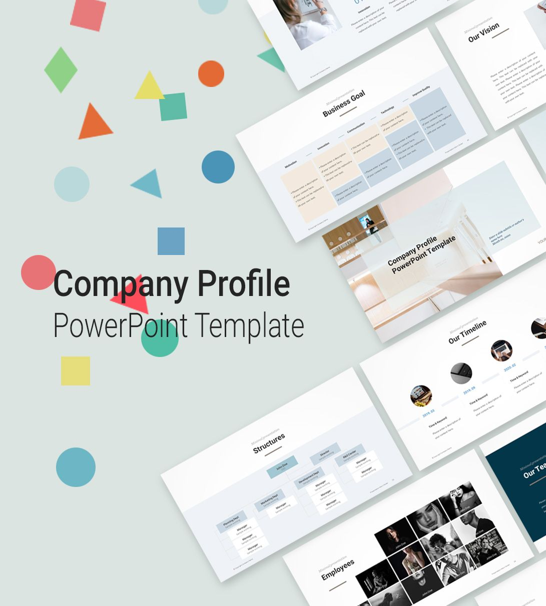 Your profile speaks louder than what you actually performed and that is reason, people are spending more on profile making thus. Pptwear Simple Powerpoint Templates And Business Presentations Company Profile Template Powerpoint Templates Simple Powerpoint Templates