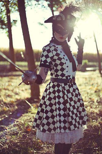 Arlequín duelista...Fashion Designer: Amoelbarroco