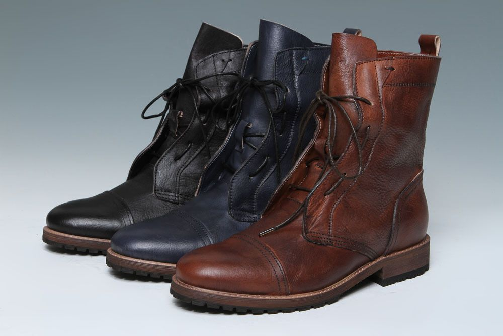New Trendy Barrett Classic Ankle Boots Coffee For Men Outlet