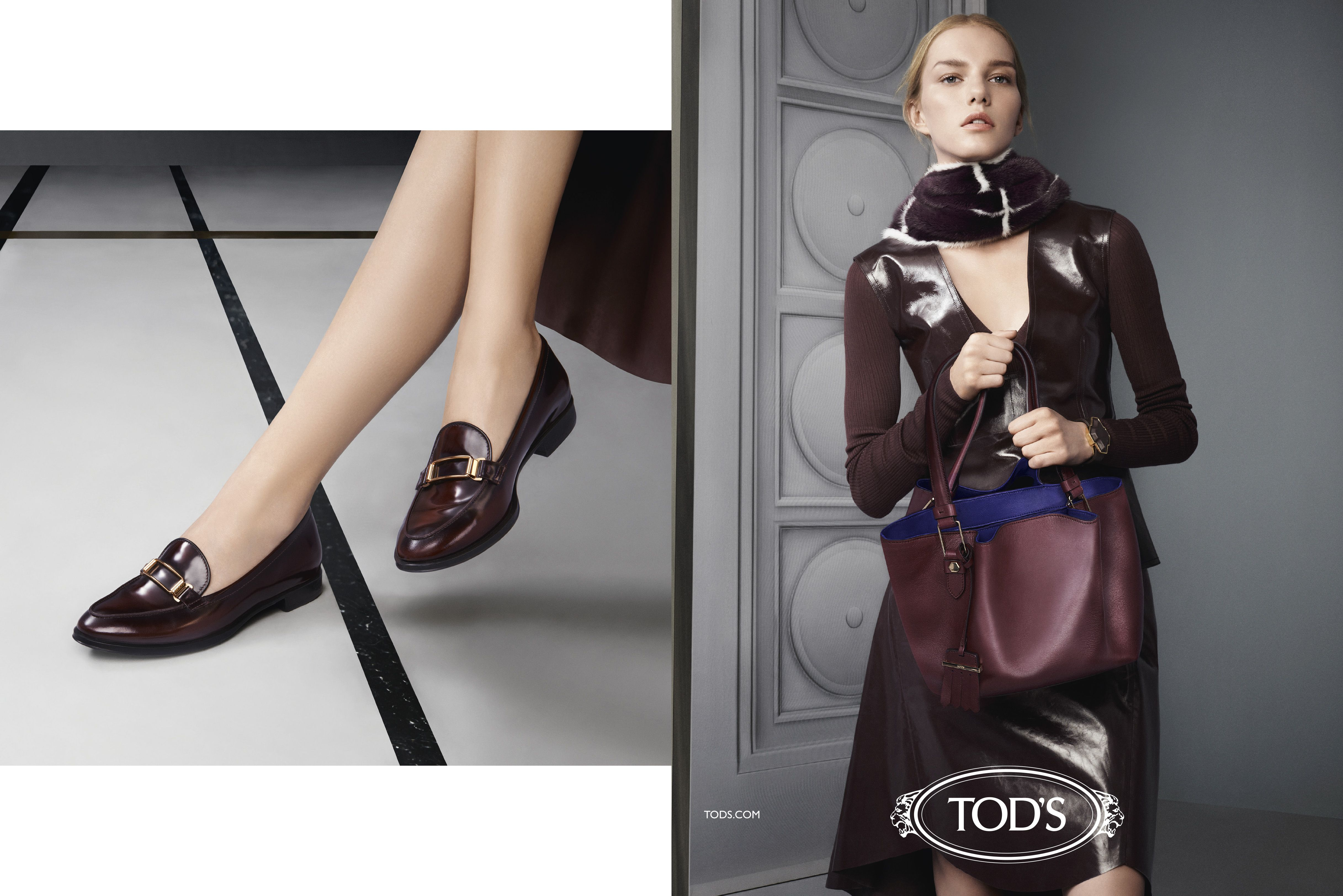 Tod's Women's Fall/Winter 2015 Campaign #tods #fw15 # ...