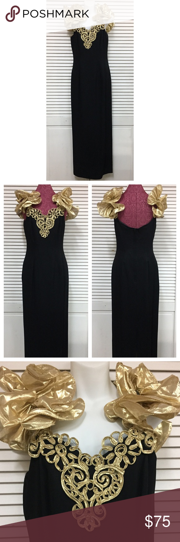 S vintage formal gownprom dress looks never worn size