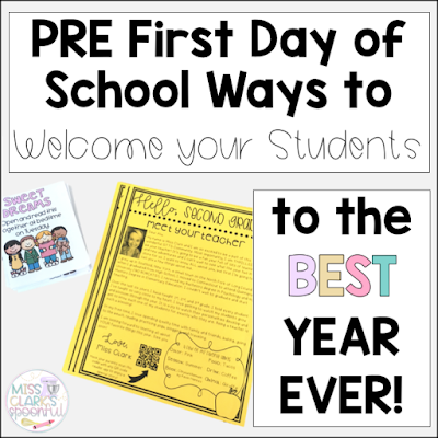 Your Students Back to School! MEET THE TEACHER