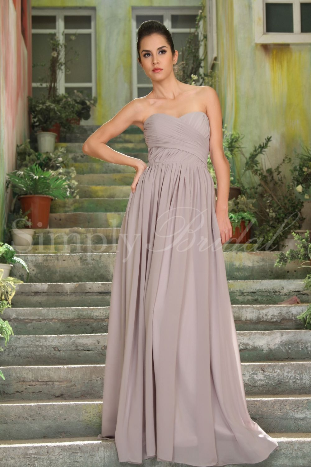 This dress is perfect for a lovely garden wedding it also has a