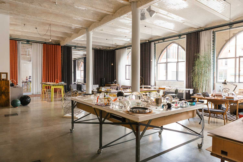 Olafur Eliasson\'s Office & Studio in Berlin | Studio, Spaces and ...