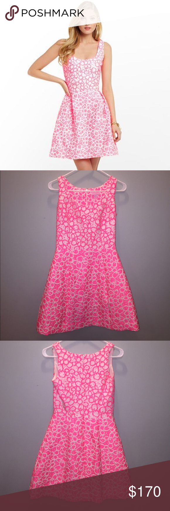 Lilly Pulitzer Joslin Dress in Fiesta Pink
