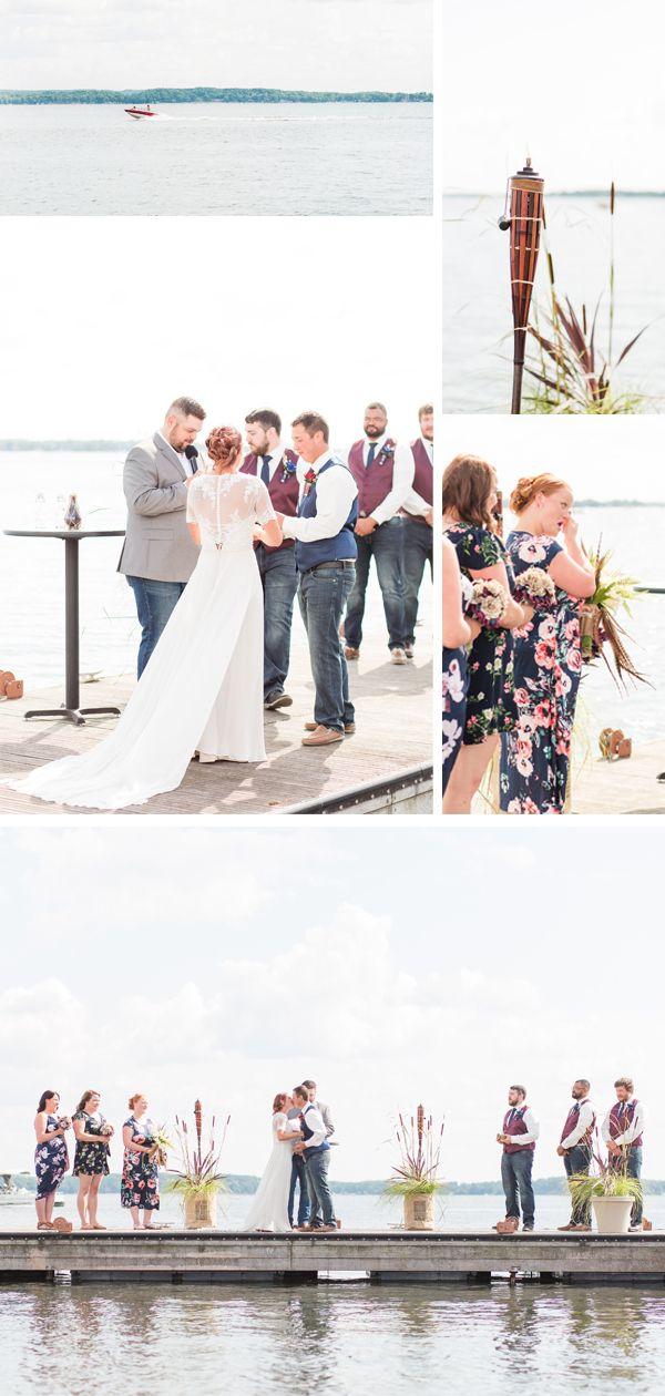 Amber & Tyler Lakeside Beach Wedding in Detroit Lakes