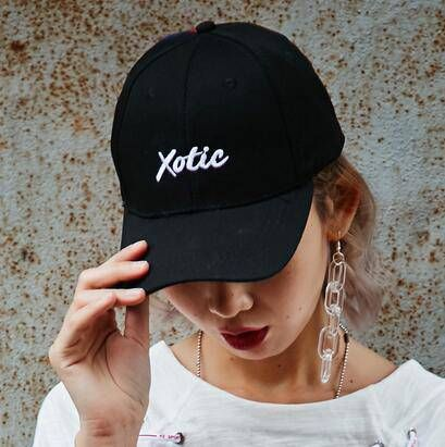 2712a66b13a XOTIC embroidered baseball cap for teenage girls UV protection hats ...
