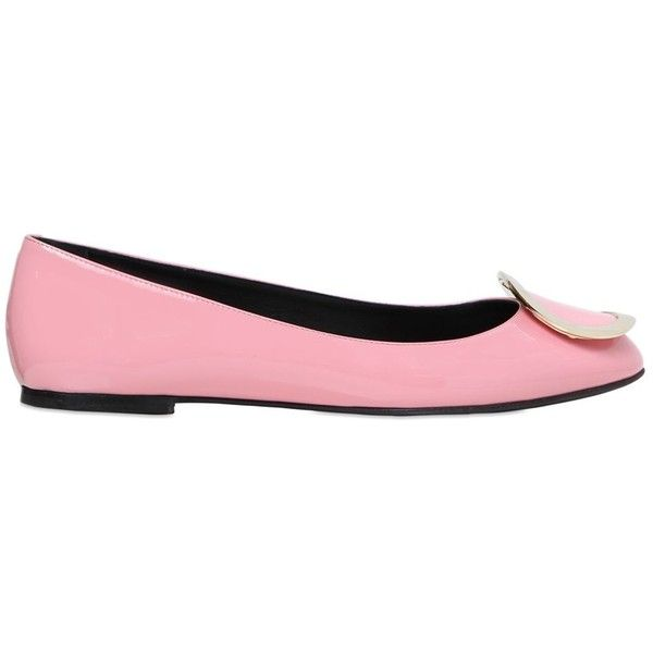 Designer Clothes, Shoes & Bags for Women   SSENSE. Pink Flat ShoesPink  FlatsLeather FlatsPatent LeatherPatent ShoesRoger VivierLogo ShoesPink Light Pump
