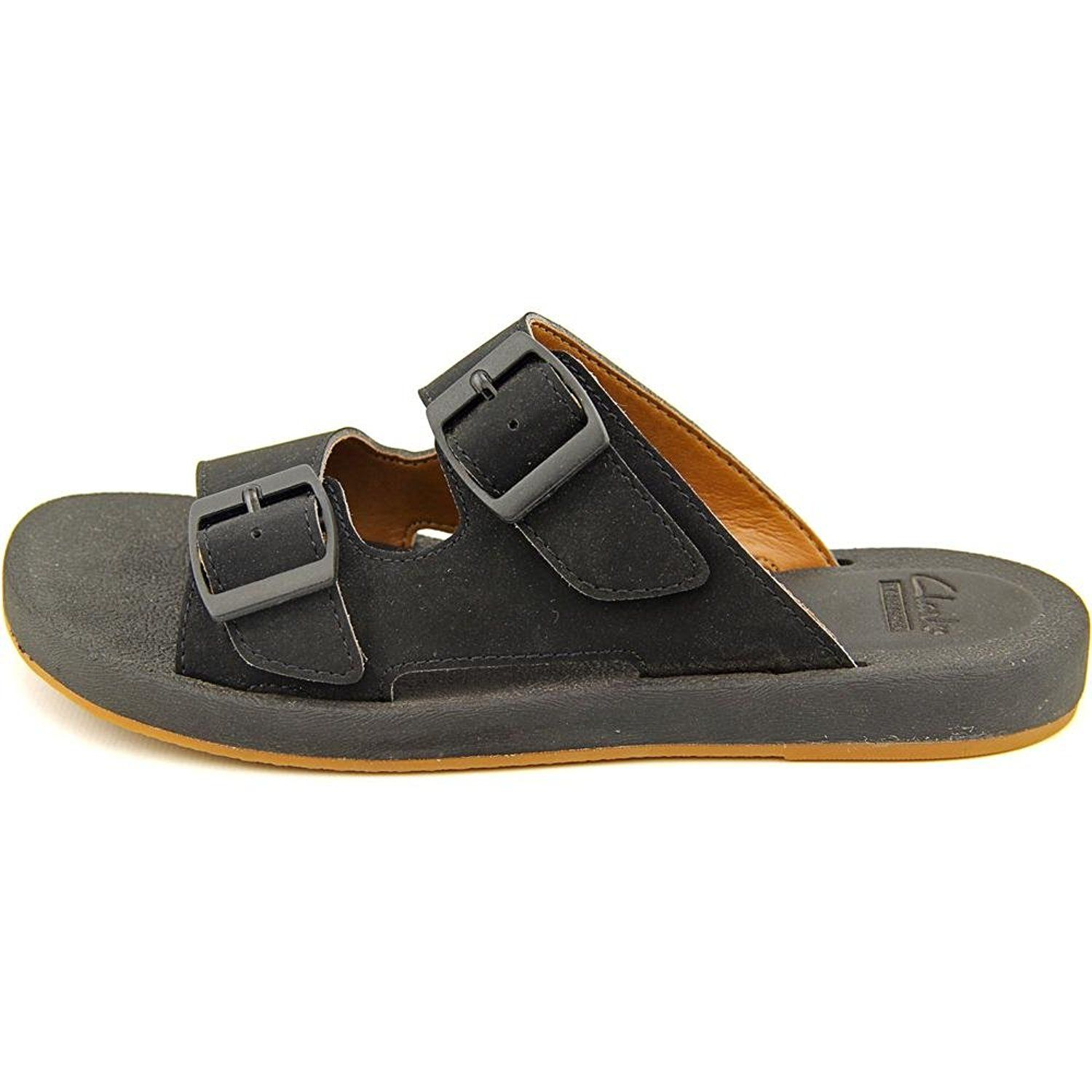 Womens Sandals Clarks Paylor Pax Black Synthetic