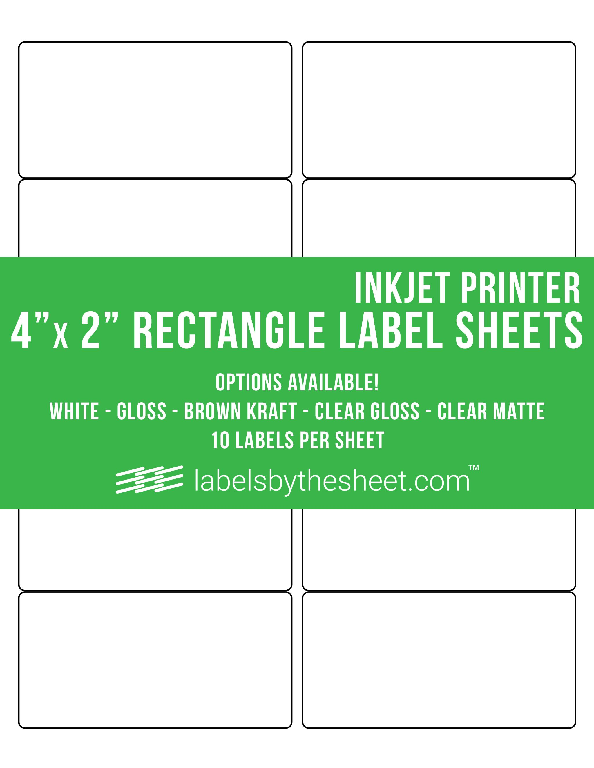 picture about Printable Label Sheets named Print your individual labels at dwelling! 4\