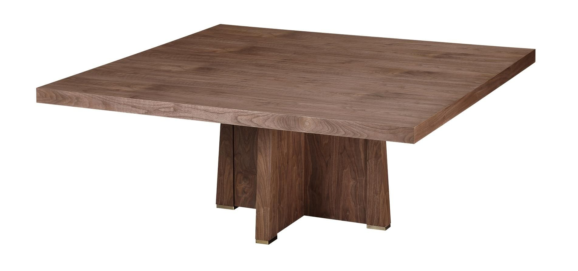 Perry 72 Sq Dining Table Light Walnut Dining Table Dining Table