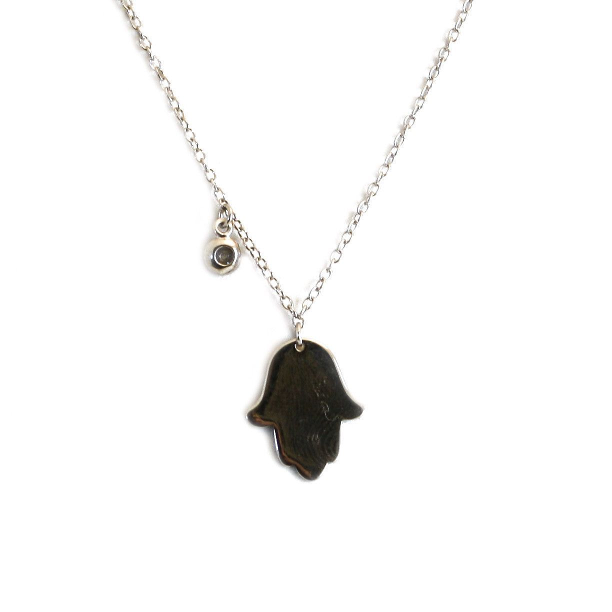 Peter & Gabby Halmsa Necklace (Sterling Silver)