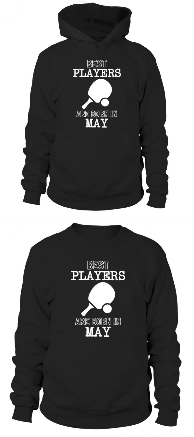 f2c83c9f T-shirt table tennis best ping pong players born in may stag t shirt table