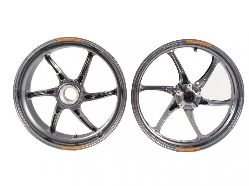 OZ Motorbike Piega Forged Aluminum Wheel Set: Ducati [1098