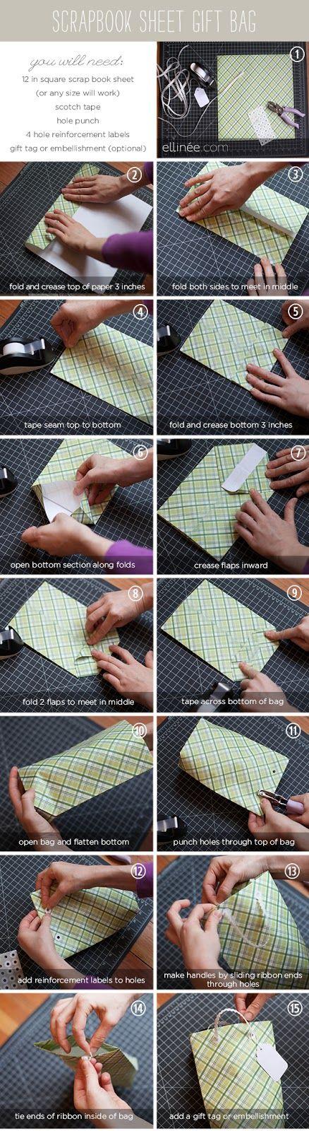 Zoom Diy 5 Simple Paper Gift Bag [2 Min] Super Easy! I