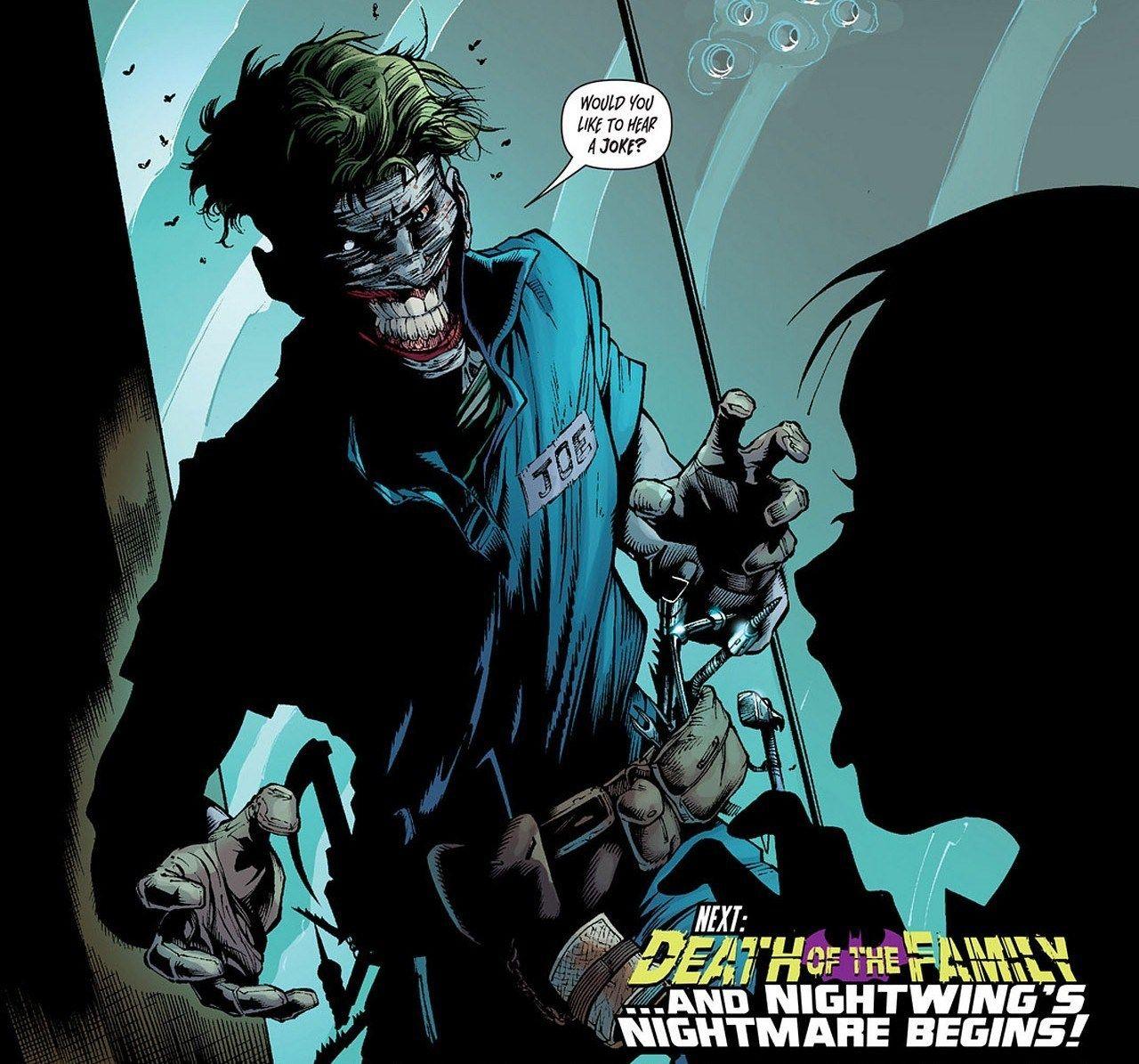 Pin By Cristian David Ramirez Contrer On The Three Jokers Joker Comic Batman Vs Joker Joker Death
