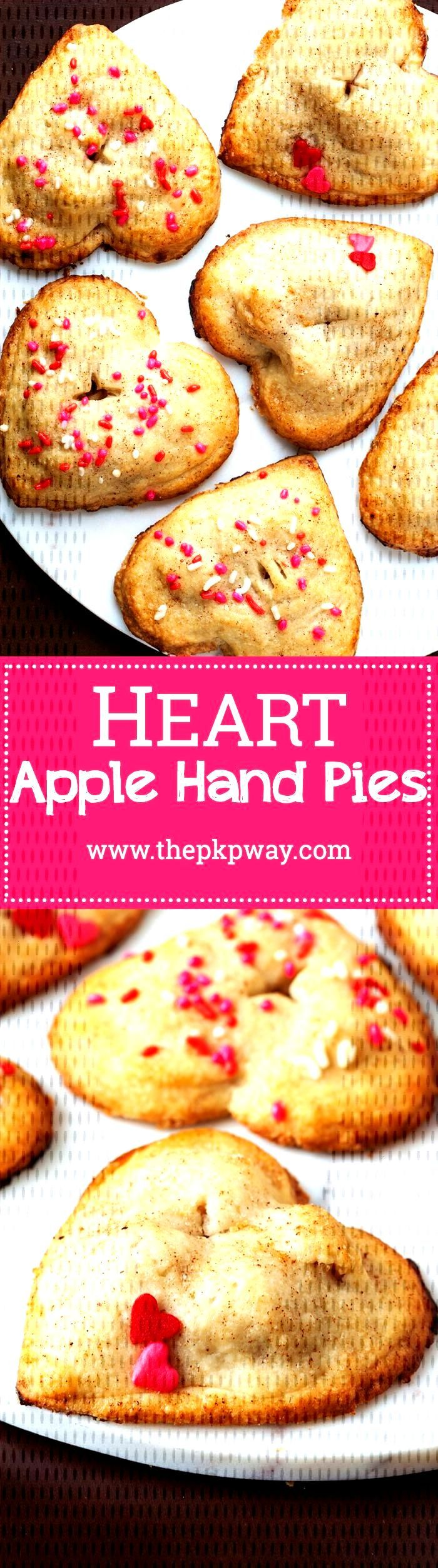 Valentine's Day Apple Hand Pies | The PKP Way - Emily Asher - Valentine's Day Apple Hand Pies |