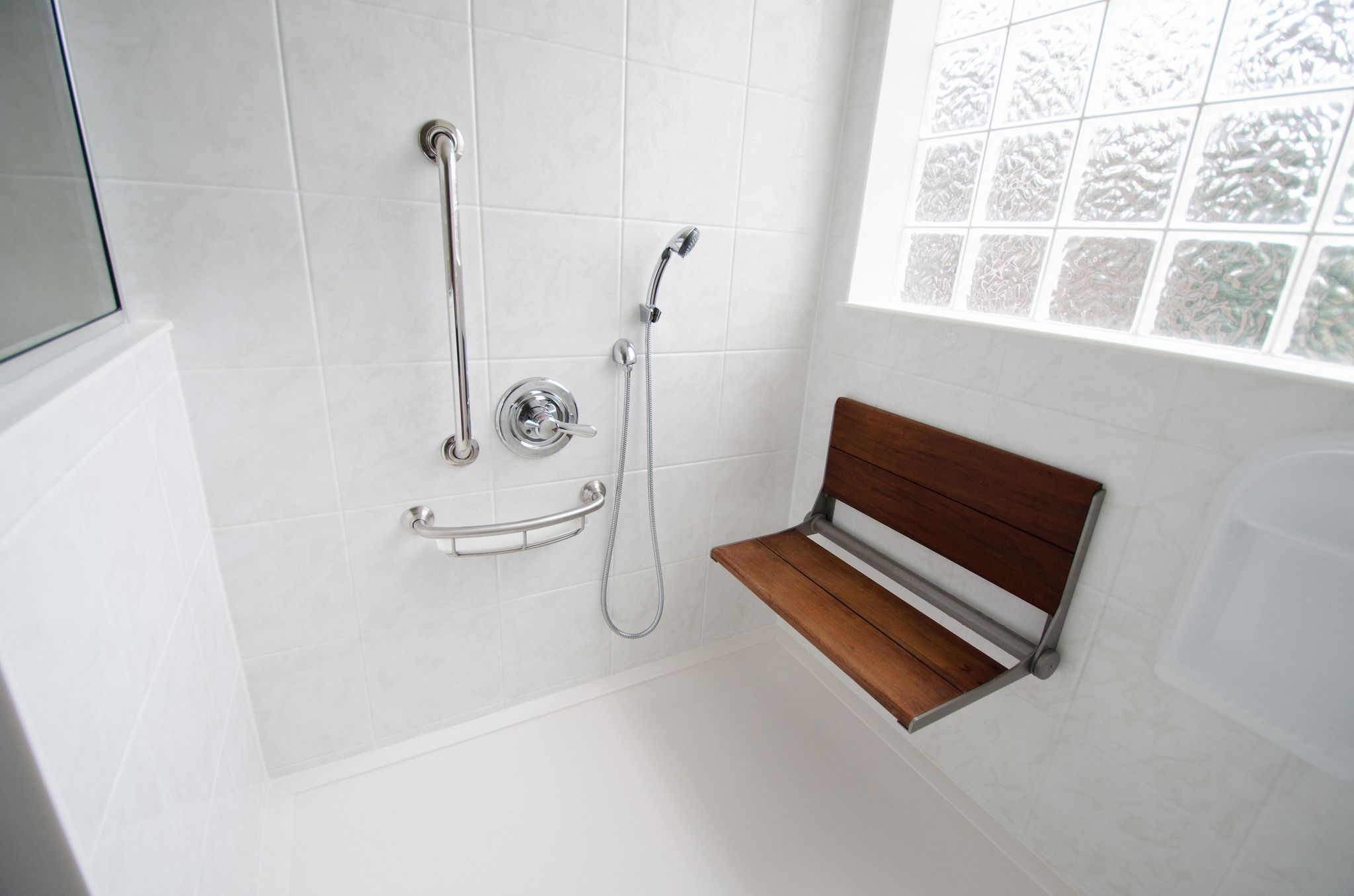 rh777 - after-0398 | Shower seat, Bath and Bath remodel