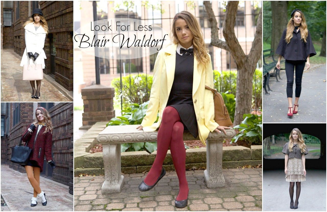 Get the look for less blair waldorf fall fashion my style in