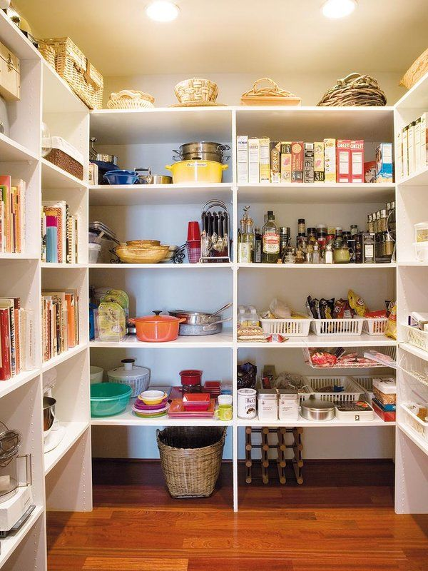 Ideas para organizar despensas, trasteros y armarios | Trastero ...