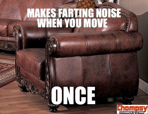 Funny Couches leather chair fart noise | funny pictures | pinterest | chairs