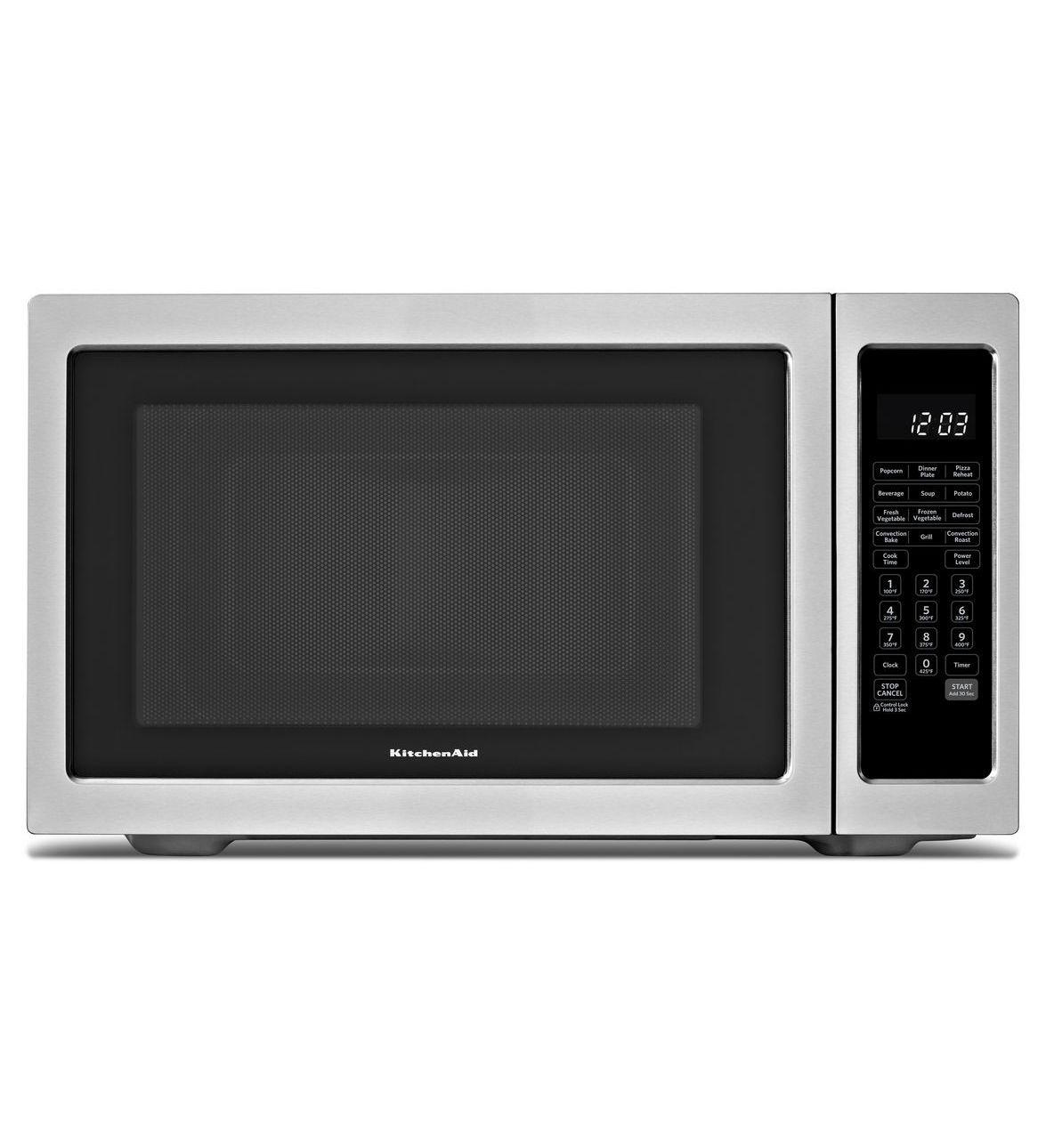 Kitchenaid 1200 Watt Countertop Convection Microwave Oven Architect Series Ii Countertop Microwave Countertop Microwave Oven Stainless Steel Microwave
